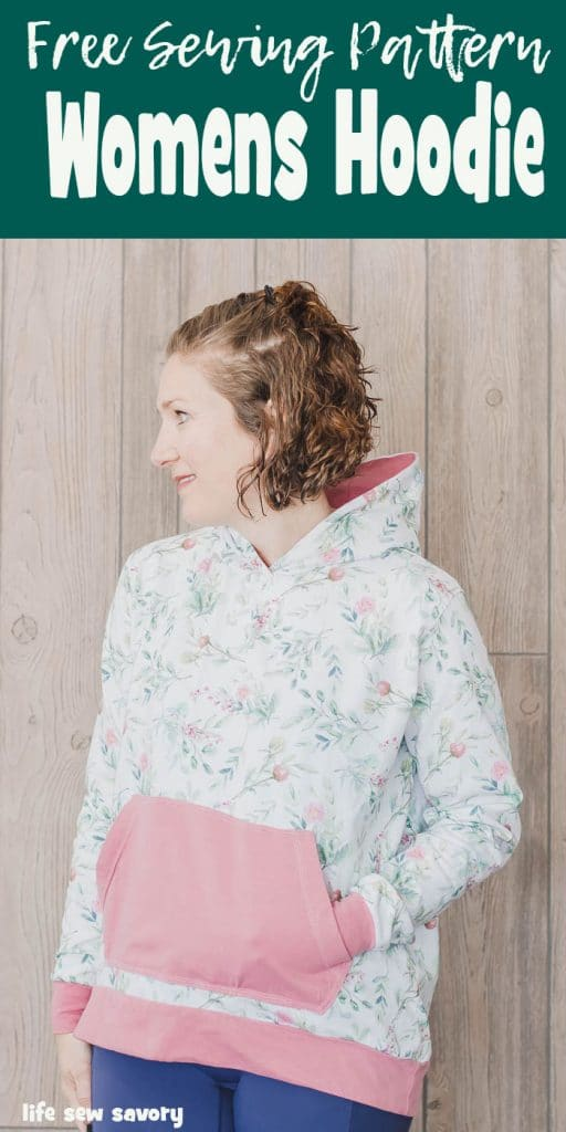 diy oversized hoodie sewing pattern free pdf from Life Sew Savory