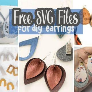 Free Earring SVG cut files