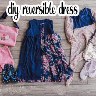 Reversible Dress - Sewing inspiration