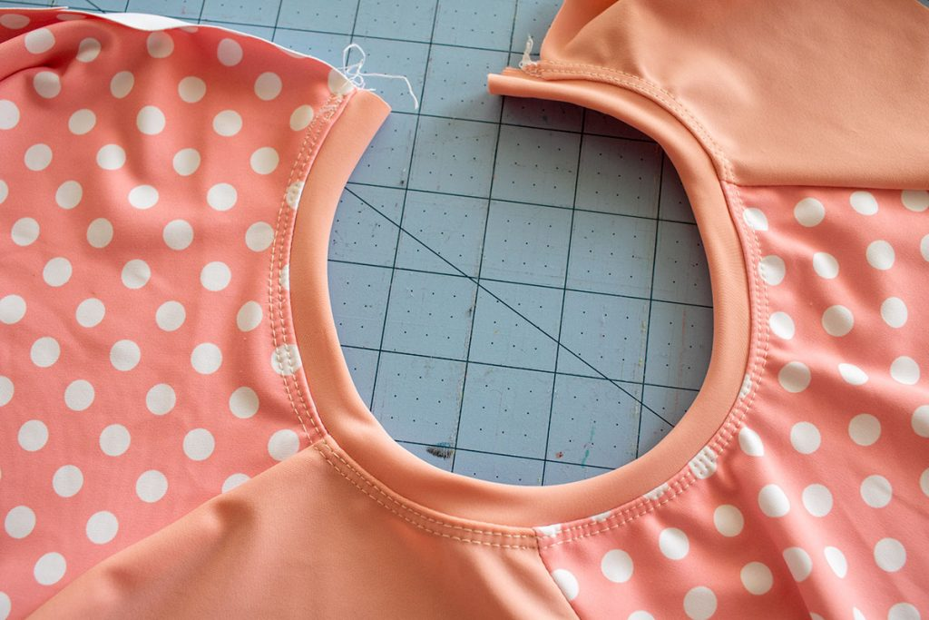 neck band sewing