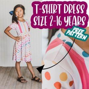 T Shirt Dress Pattern Free PDF