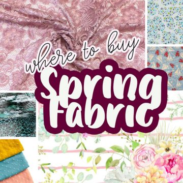 My favorites: Spring Fabrics
