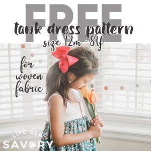 Tank Dress Pattern free PDF