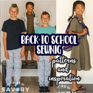 Back to School Sewing with Project Run & Play - Raspberry Creek Fabric