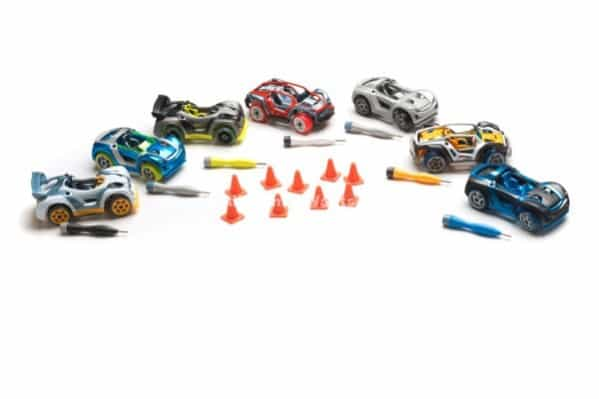 Modarri_All-7-New-2014-Cars-with-cones_LR-599x399