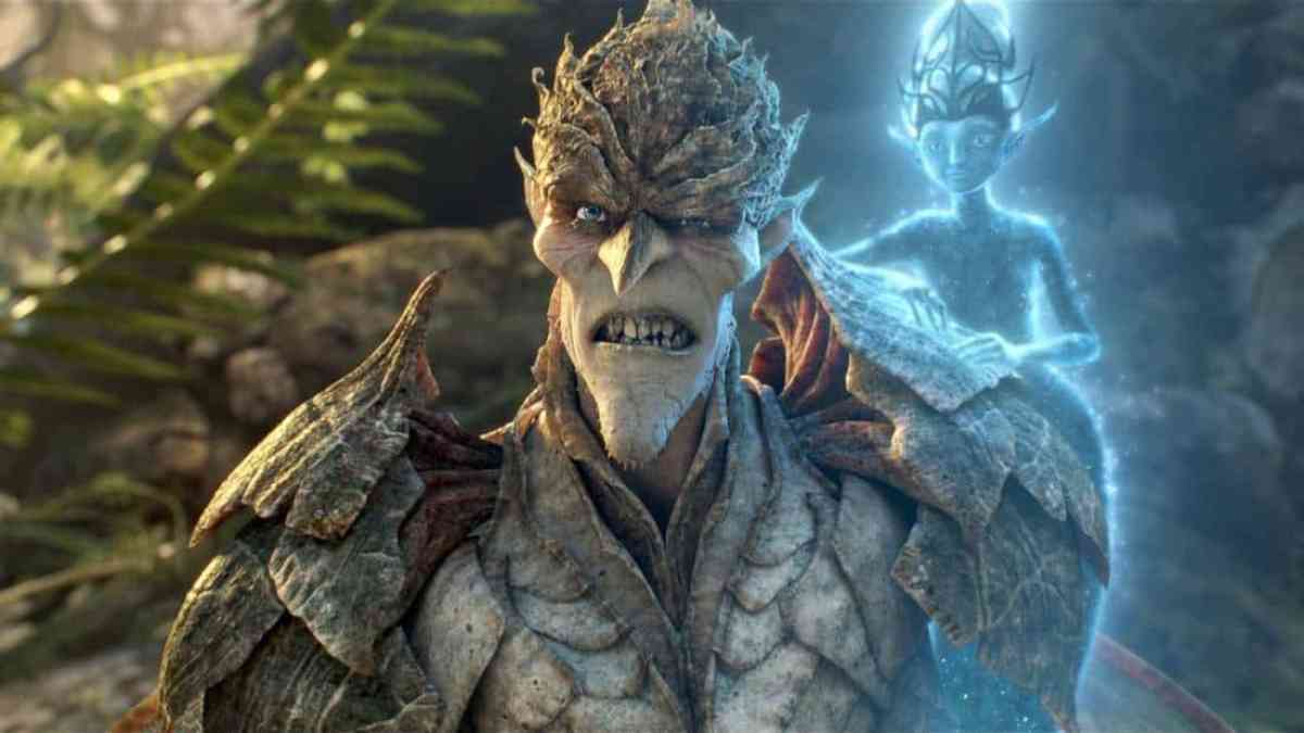 """Bog King (voice of Alan Cumming) is fiercely opposed to a powerful potion that's created by the Sugar Plum Fairy (voice of Kristin Chenoweth). """"Strange Magic,"""" a madcap fairy tale musical inspired by """"A Midsummer Night's Dream,"""" will be released by Touchstone Pictures on Jan. 23, 2015. (Strange Magic © & TM 2014 Lucasfilm Ltd. All Rights Reserved.)"""