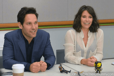 Paul Rudd and Evangeline Lilly From Ant-Man 3