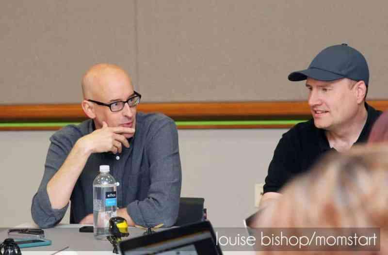 Peyton Reed & Kevin Feige talking