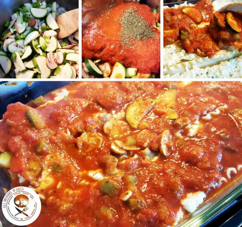 Recipe: Hearty Vegetable Lasagna