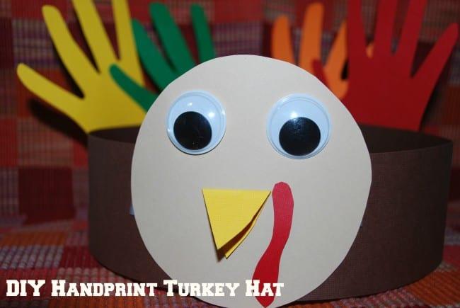 DIY-Handprint-Turkey-Hat-650×435