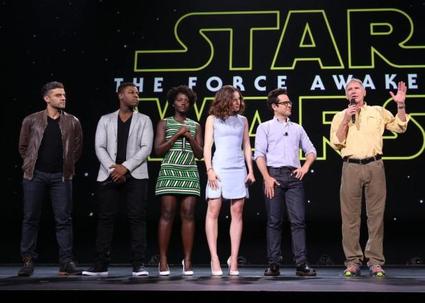Yep, these guys and girls. And the most powerful woman in entertainment, Kathleen Kennedy!