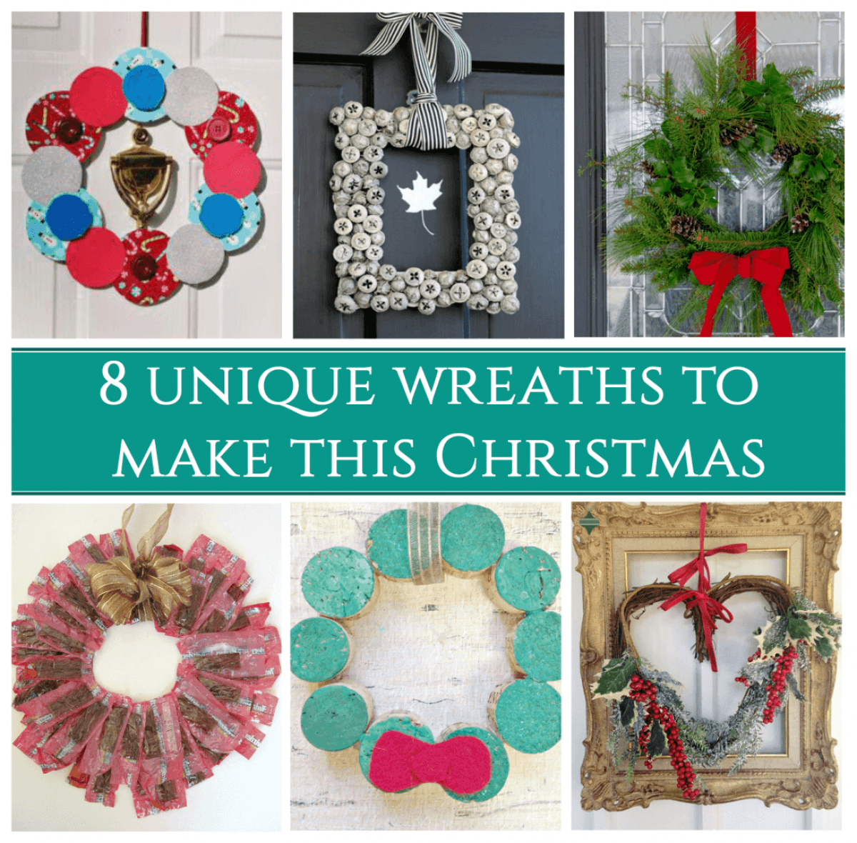 8 Holiday Wreaths to Make final