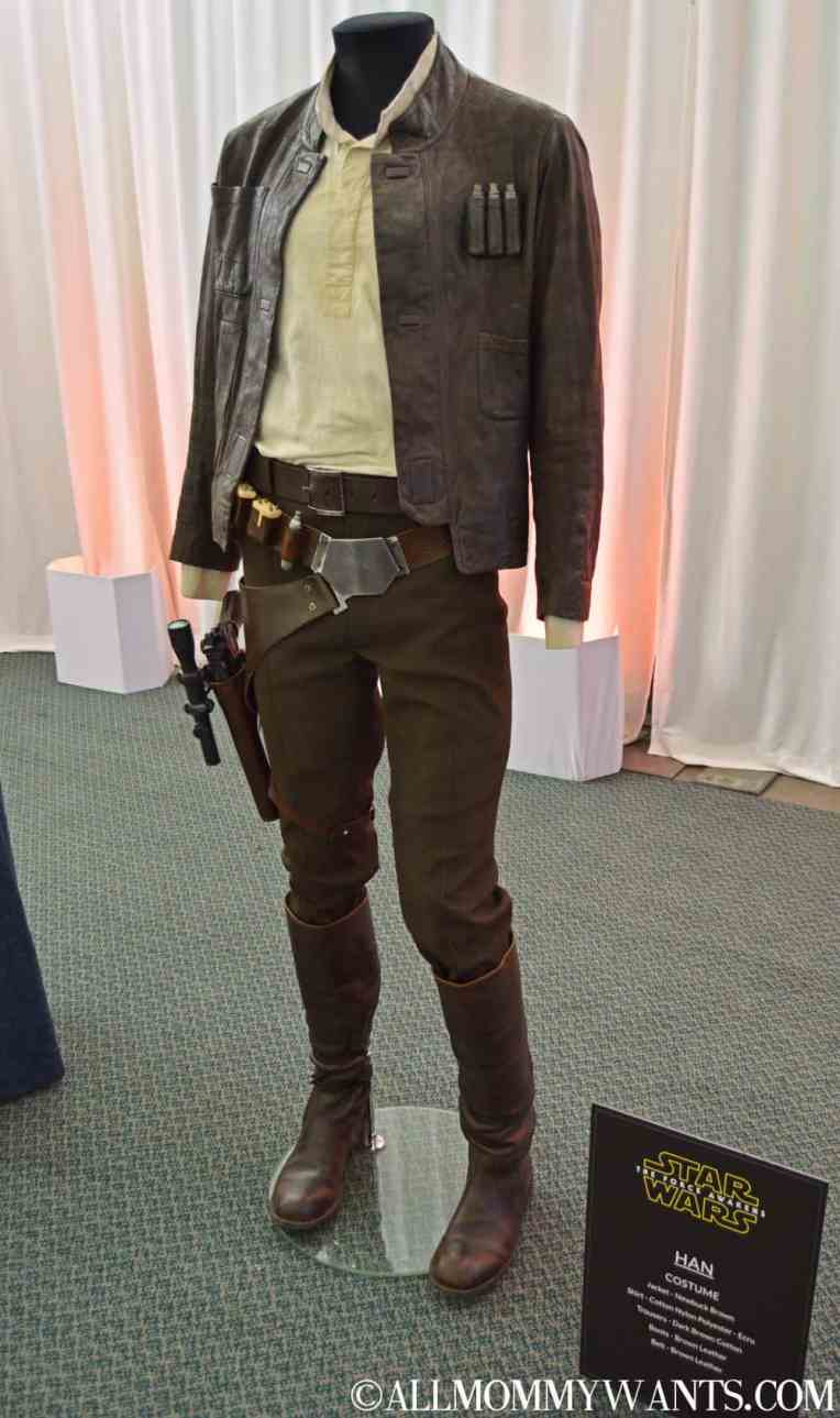 Han Solo Costume. Although the belt appears to be the same as the original, it is a remake.