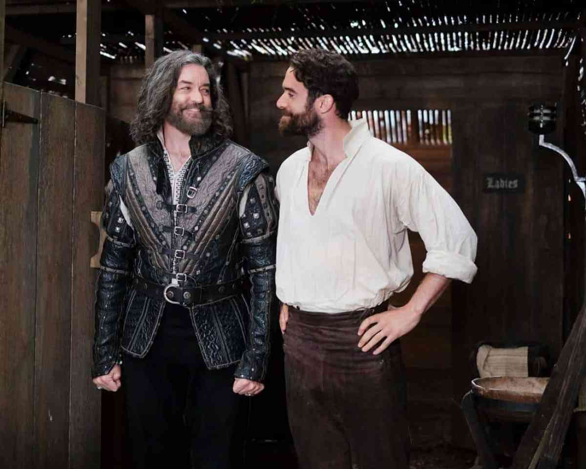 PHOTO CREDIT: (ABC/Nick Ray) Timothy Omundson, Joshua Sasse