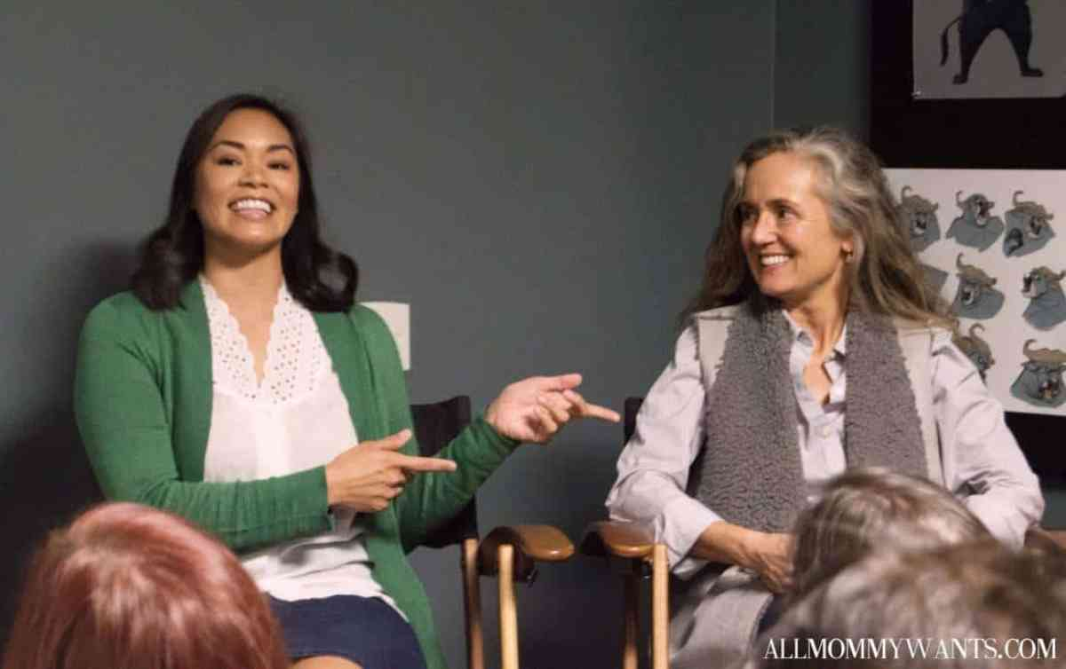 Co-Head of Story Josie Trinidad (left) and Head of Editorial Fabienne Rawley talk about what it takes to animate a scene of Zootopia.