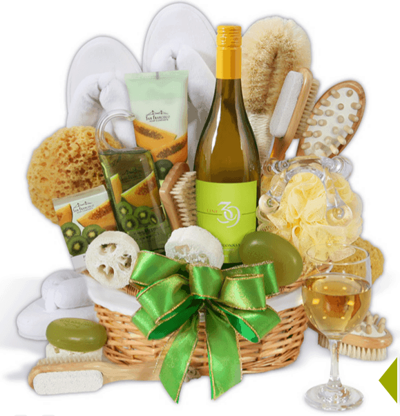 Spa and Wine Giftset
