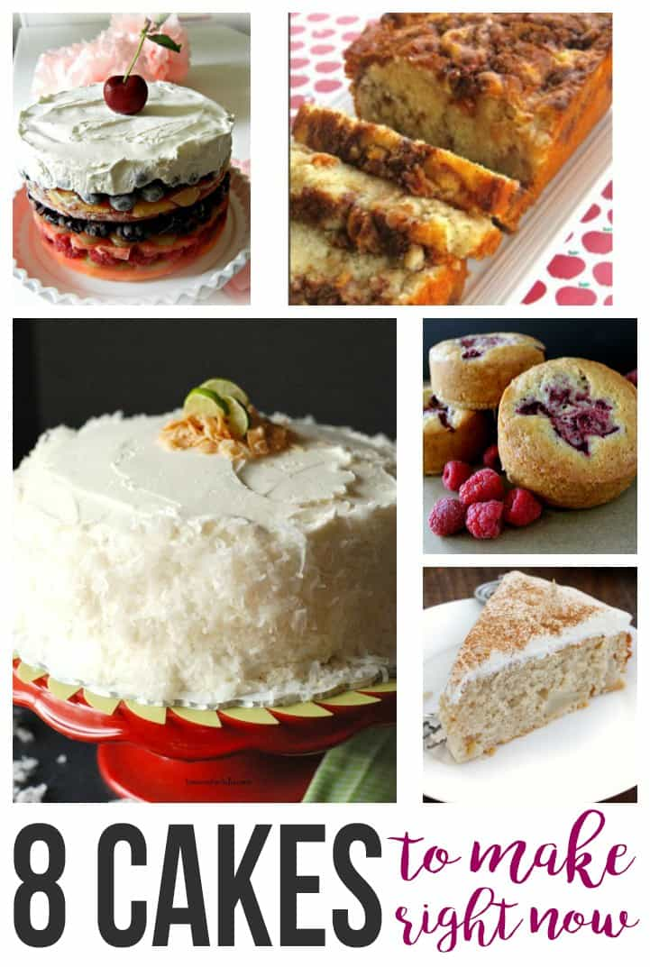 8 Must Make Cakes
