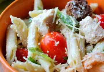 Chicken-Caesar-Pasta-Salad