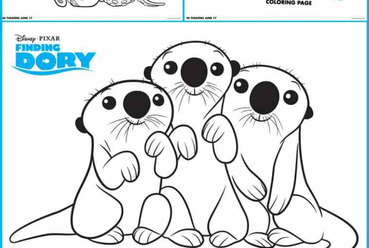 Free Printables Finding Dory Coloring Pages Life She Has