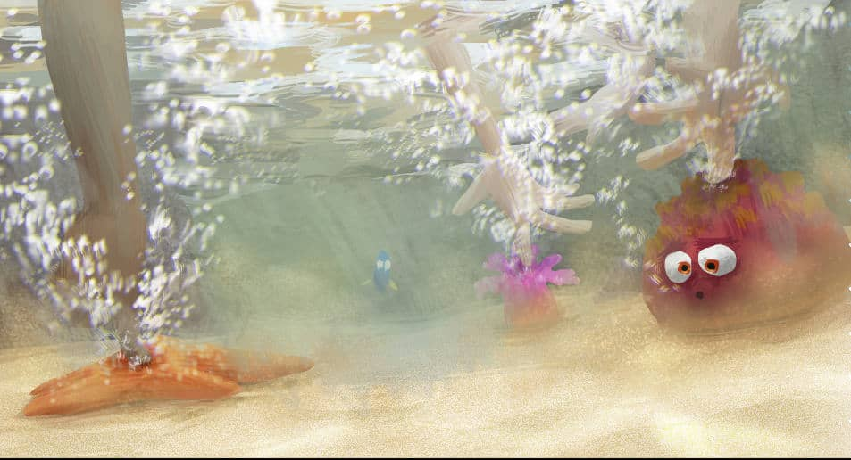 FINDING DORY – Touch Pool Concept Art by Artist Paul Abadilla. ©2016 Disney•Pixar. All Rights Reserved.