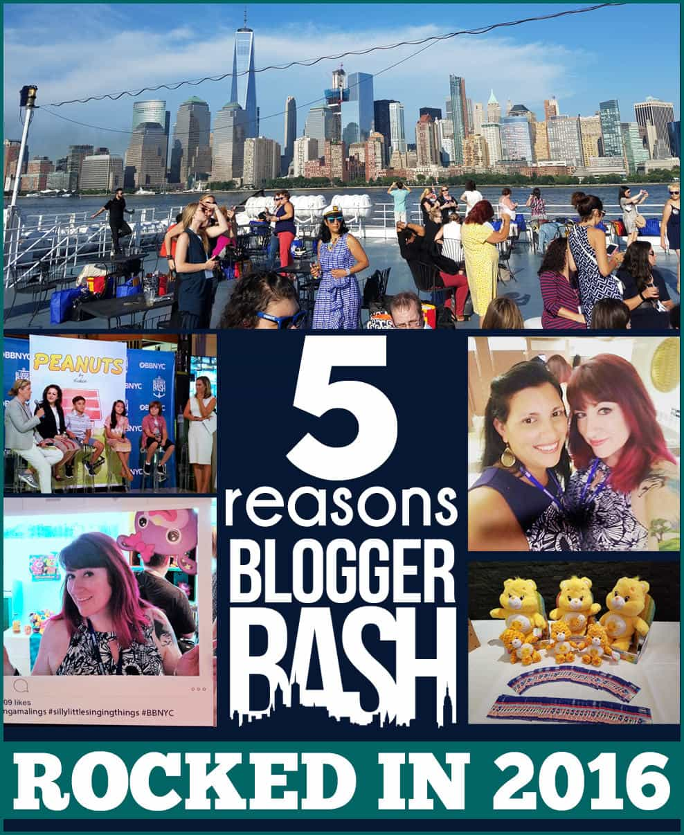 5 REASONS BLOGGER BASH ROCKED
