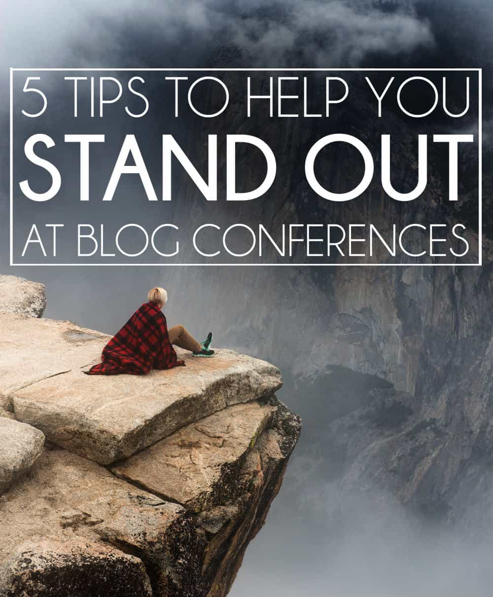 5 blog conference tips