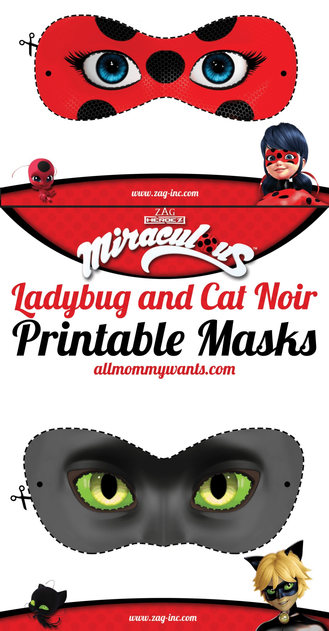 Printables Miraculous Adventures Of Ladybug And Cat Noir