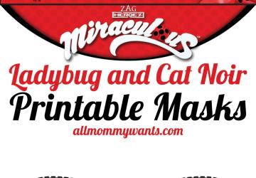 LadyBug Masks 2