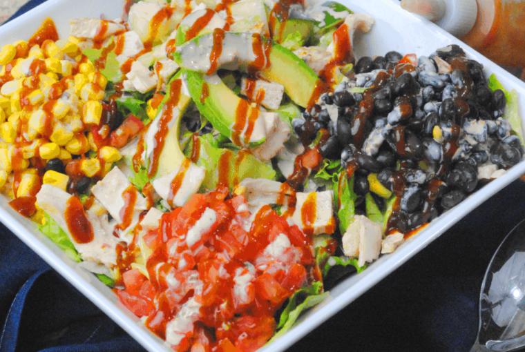 BBQ Chick salad