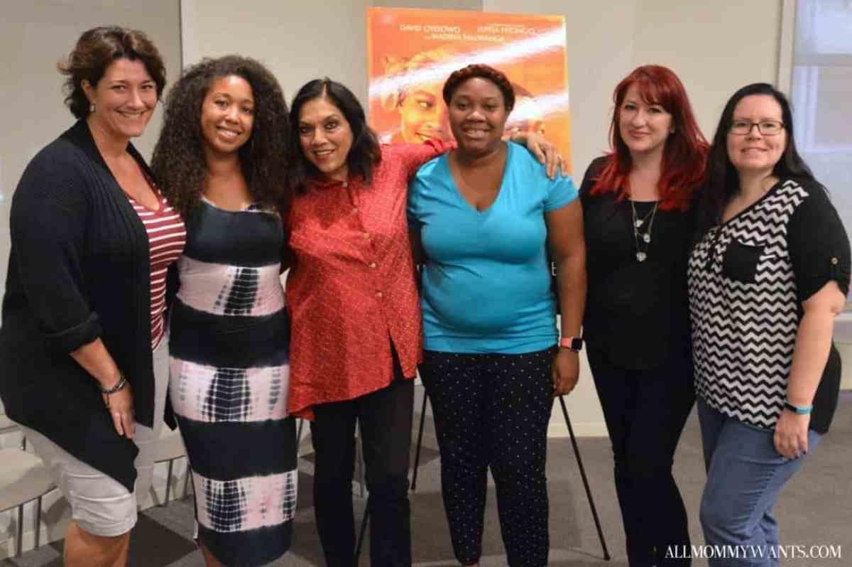 Mira Nair and bloggers