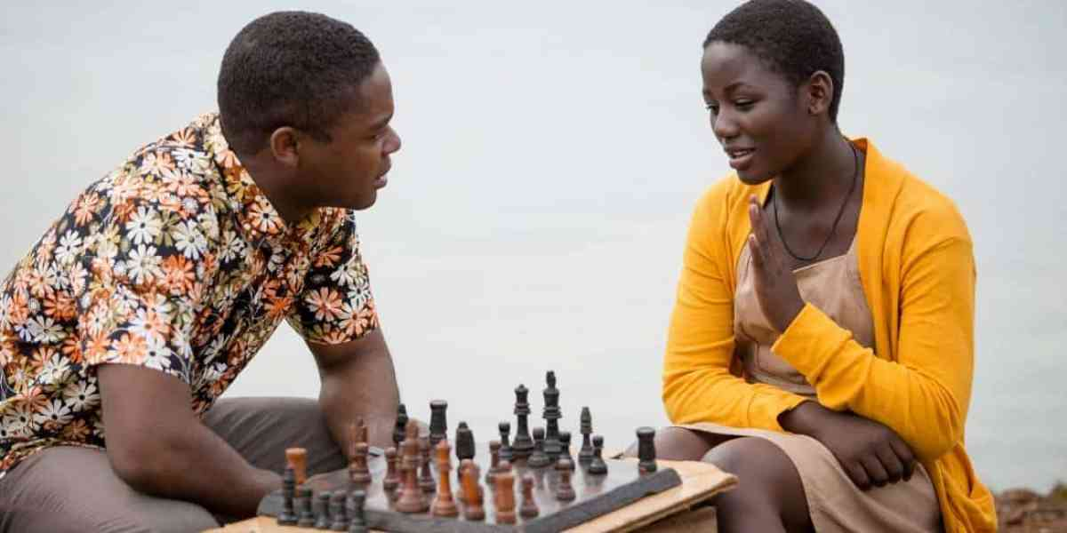 David Oyelowo and Madina Nalwanga (Disney)