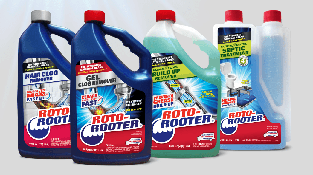 You know Roto-Rooter® as the #1 Brand in Plumbing Services. Now you can have that same 80 years of expertise in a bottle; introducing the NEW Roto-Rooter Drain Care products; The Strongest National Brand.
