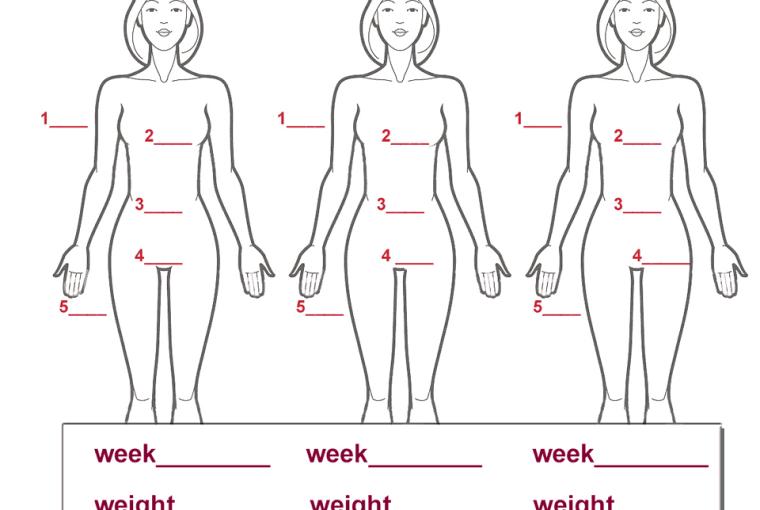 free printable visual weight measurement tracker life she has