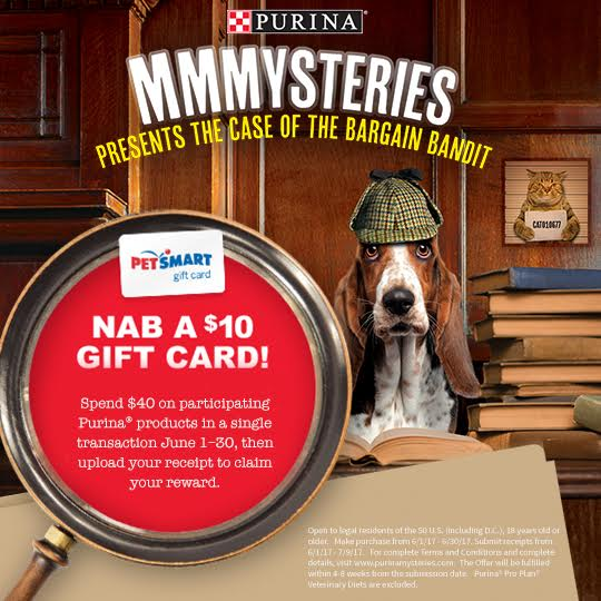 Solve The Purina Mystery at PetSmart