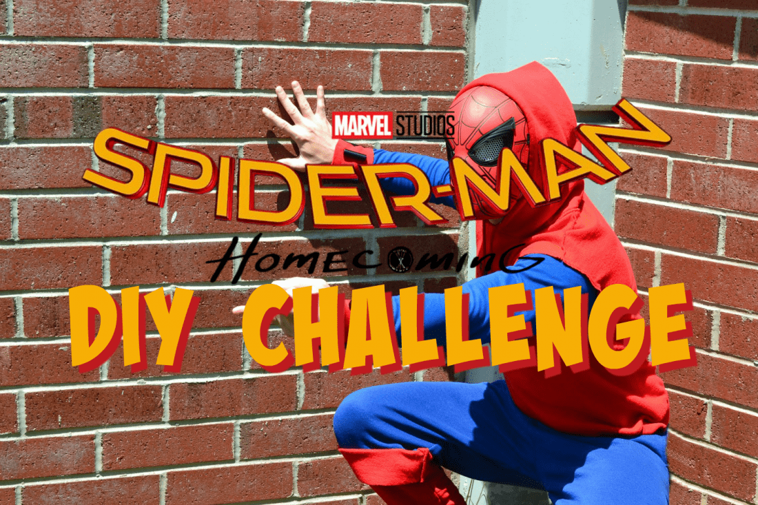 spider-man: homecoming diy costume challenge | life she has
