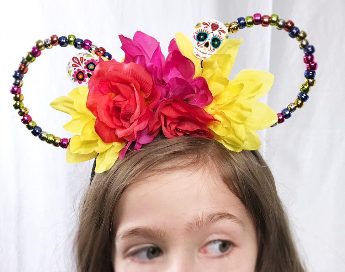 Diy Day Of The Dead Minnie Ears Inspired By Disney Pixar S