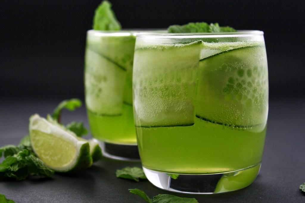 gin and cucumber