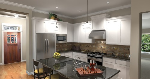 3D Kitchen Rendering by 3DPlanView.com