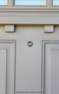 DIY: How To Install A Peep Hole In Your Front Door - Life ...