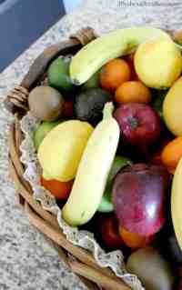 Easy DIY Burlap & Lace Fruit Basket - Life Should Cost Less