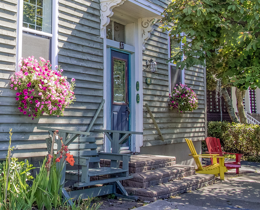 Pretty historic Colonial homes in Sydney, Nova Scotia. Many are designated as a heritage property. Photo Credit: Wendy Nordvik-Carr