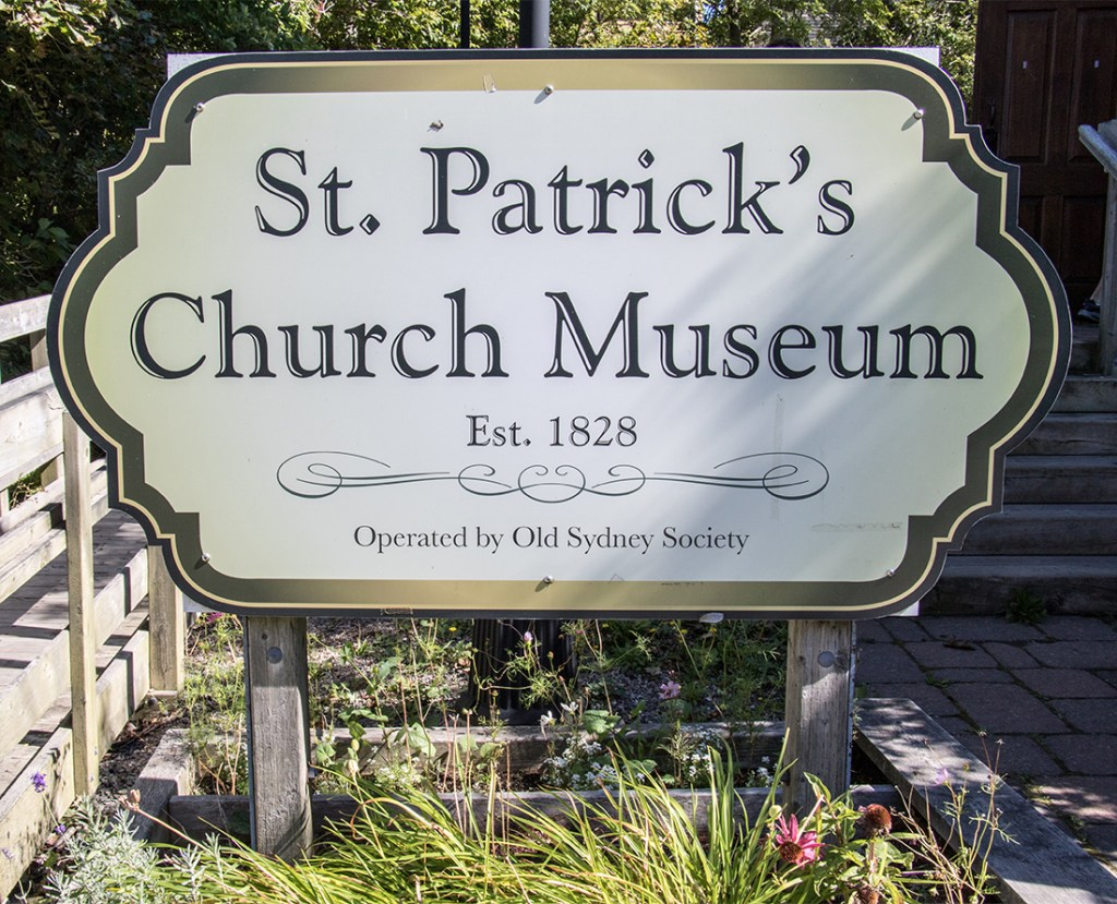 St. Patrick's Church Museum was established in 1828 and is the oldest Roman Catholic Church in Cape Breton and is located is Sydney, Nova Scotia. Photo Credit: Wendy Nordvik-Carr