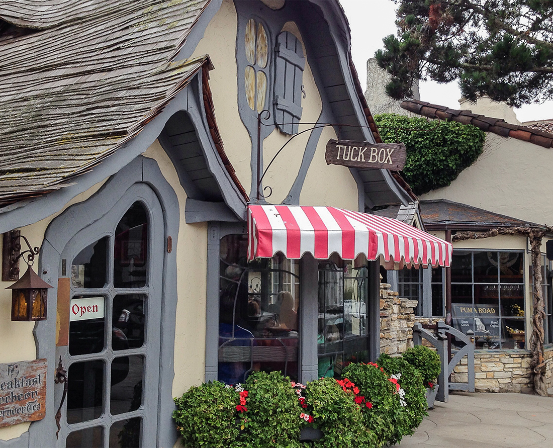 Explore Carmel-by-the Sea, a charming, romantic seaside resort with fairy-tale houses. Photo Credit: Wendy Nordvik-Carr