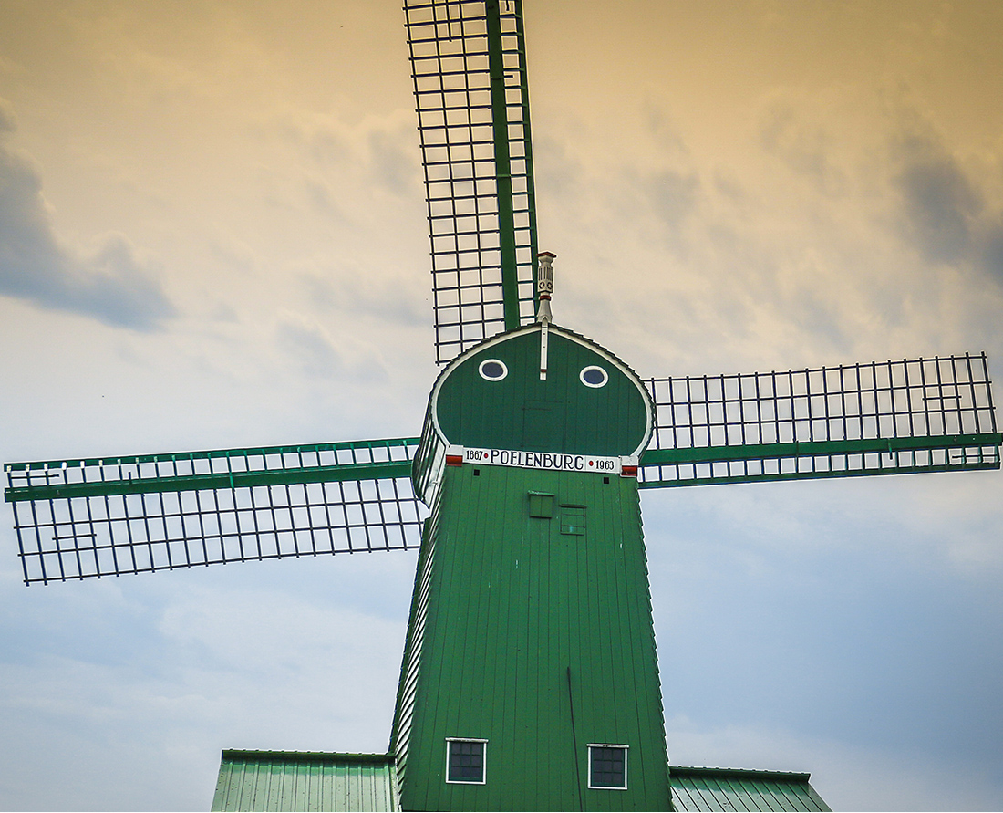 Visit the charming Dutch countryside to see the historic windmills of the Netherlands in Zaanse Schans. Photo Credit: Wendy Nordvik-Carr©