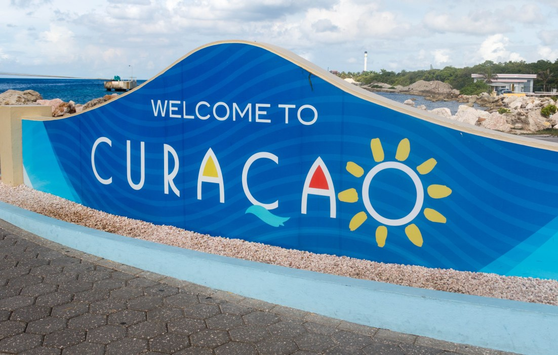 The port of call at the Caribbean Island of Curaçao, near Willemstad. Photo Credit: Wendy Nordvik-Carr©