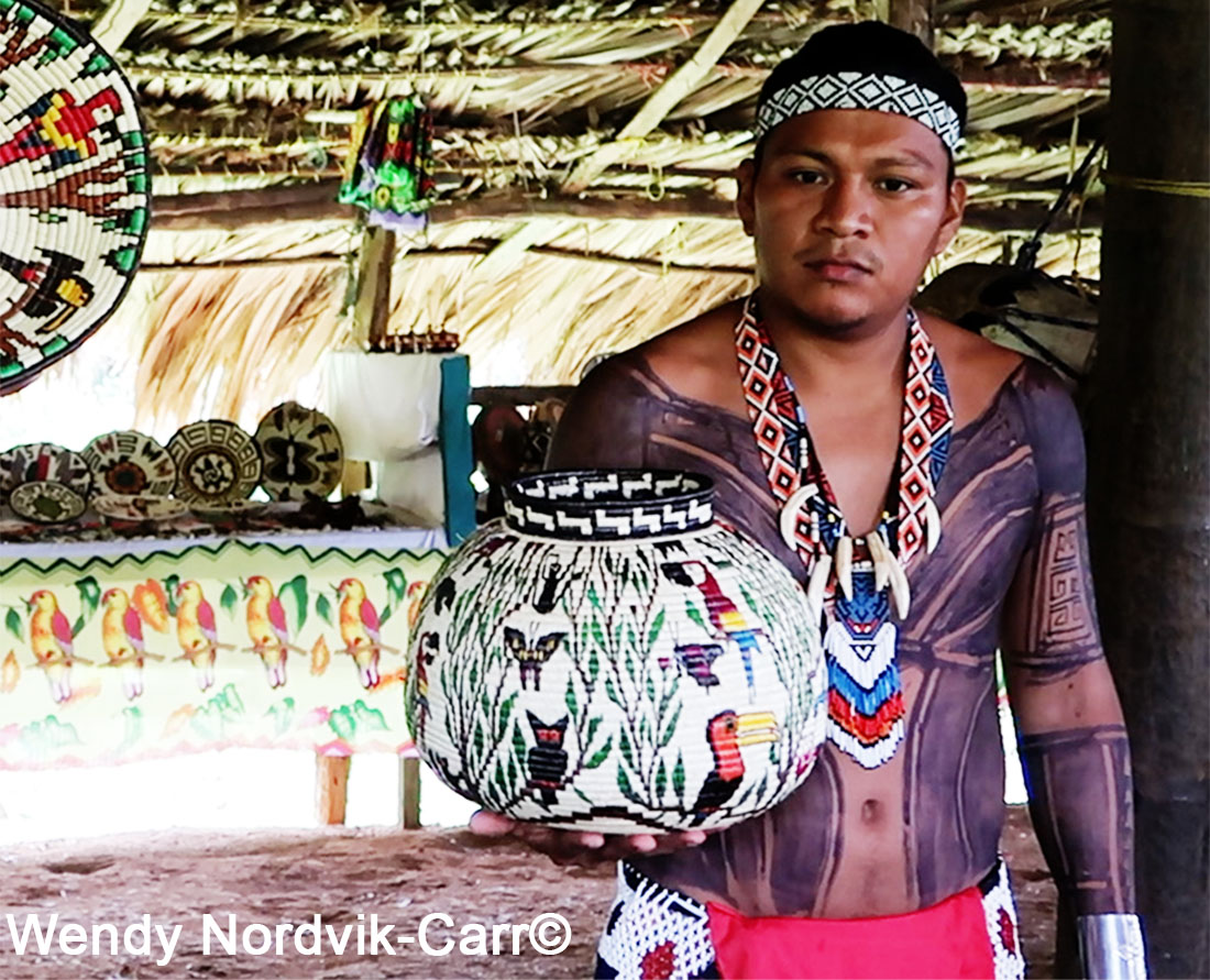 Embera People of Panama