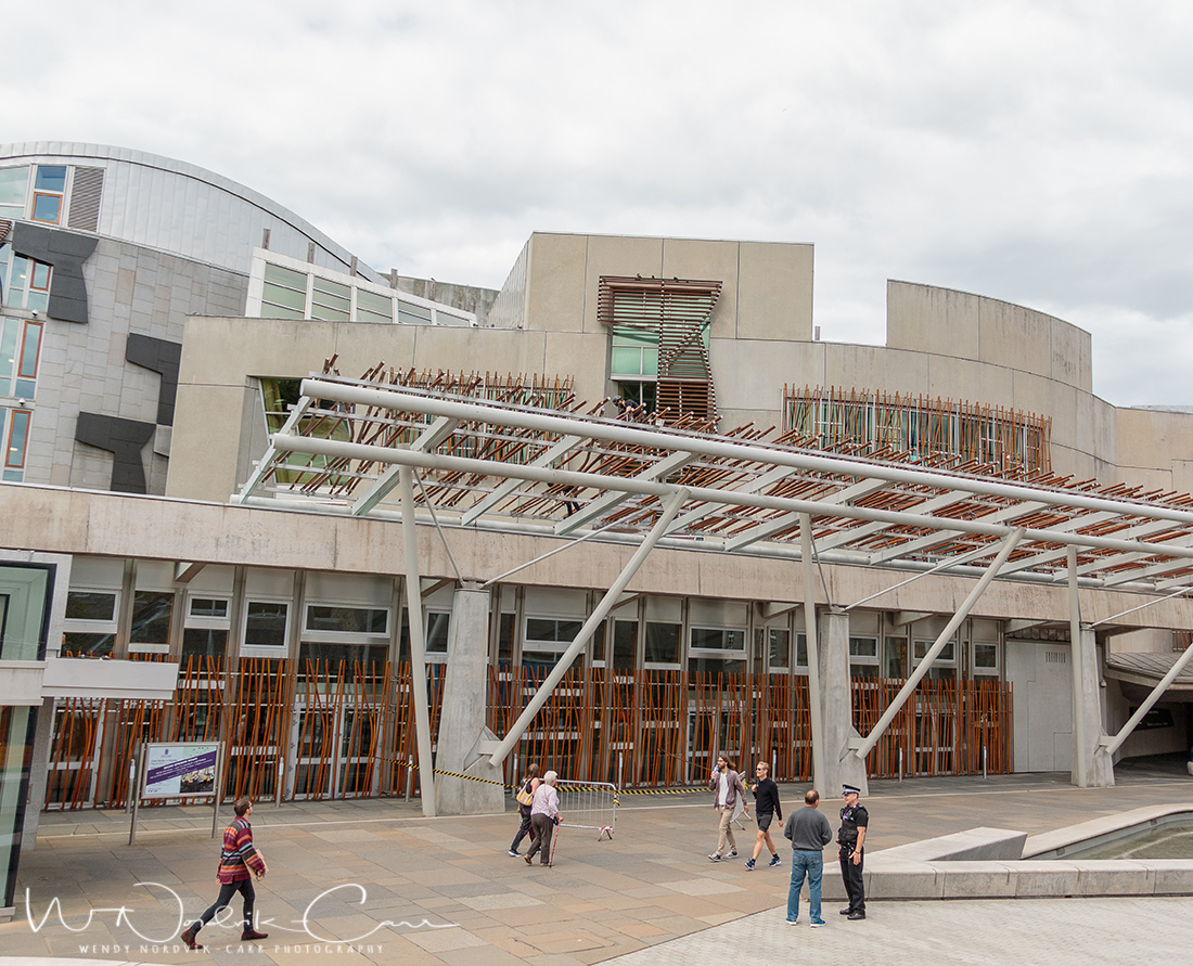 Visit the Scottish Parliament - Discover things to do in Edinburgh. Explore Old Town and New Town along with the many museums, monument, memorials and galleries of this historic city. Photo Credit: Wendy Nordvik-Carr