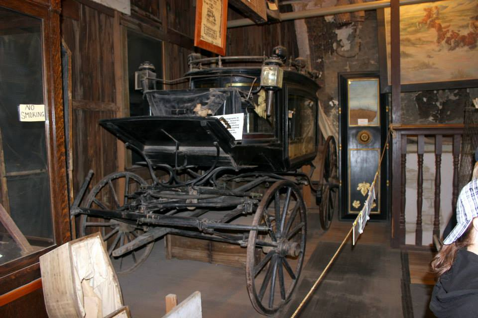 Top things to do in Tombstone The Black Mariah hearse was used to take the deceased to their grave site.