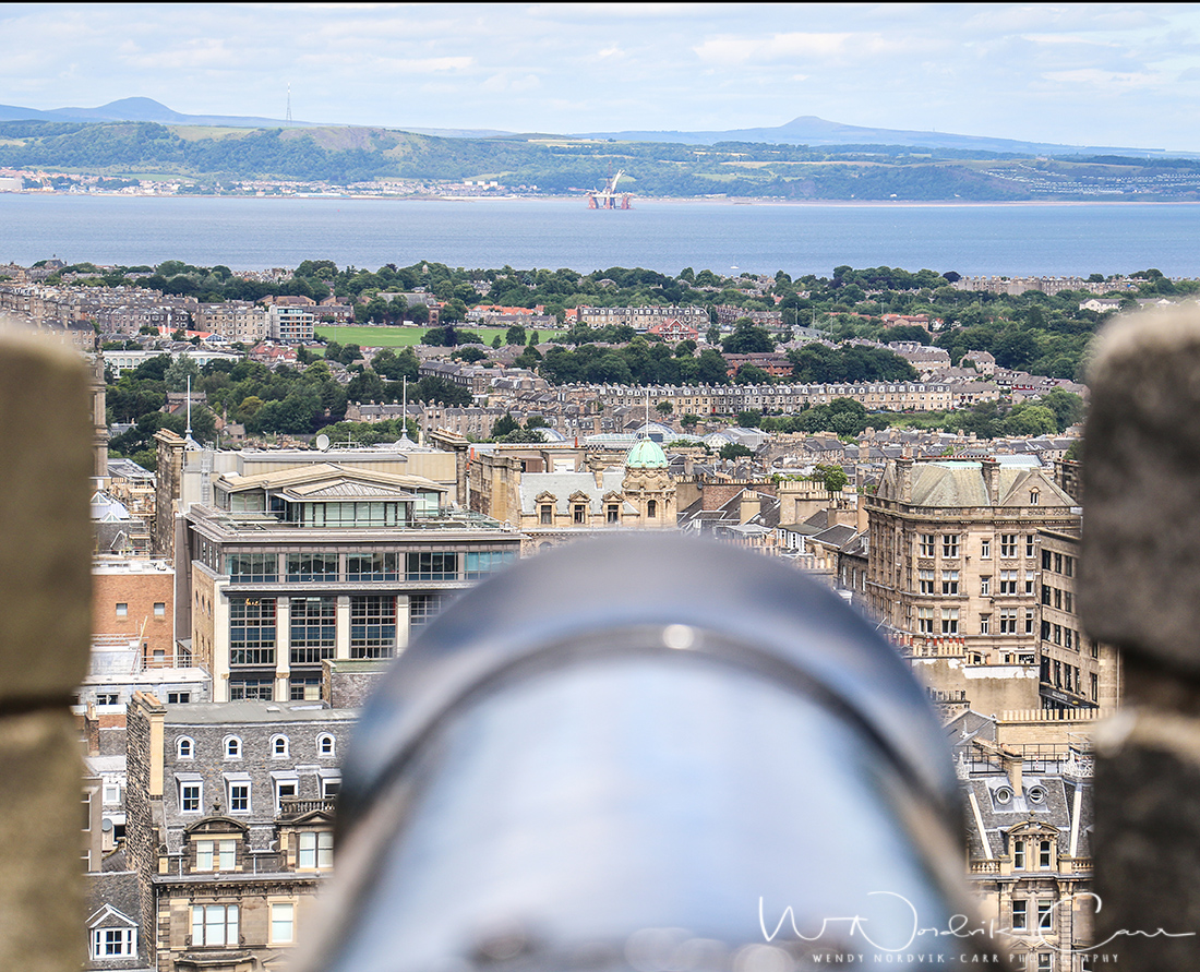 Panoramic views from Edinburgh Castle. Discover things to do in medieval Edinburgh. Explore Old Town and New Town along with the many museums, monument, memorials and galleries of this historic city. Photo Credit: Wendy Nordvik-Carr@