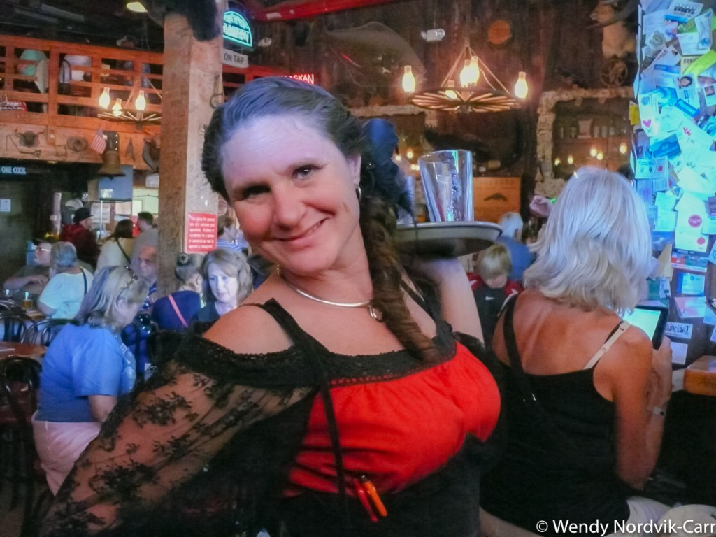Have some fun at the Red Dog Saloon. Explore top things to do in Juneau while in port. Photo Credit: Wendy Nordvik-Carr